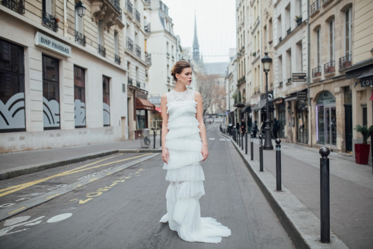 Shooting mode robe de mariée Persy Collection 2017