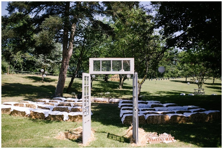 Mariage au Château de Loubejac, L' honor de cos