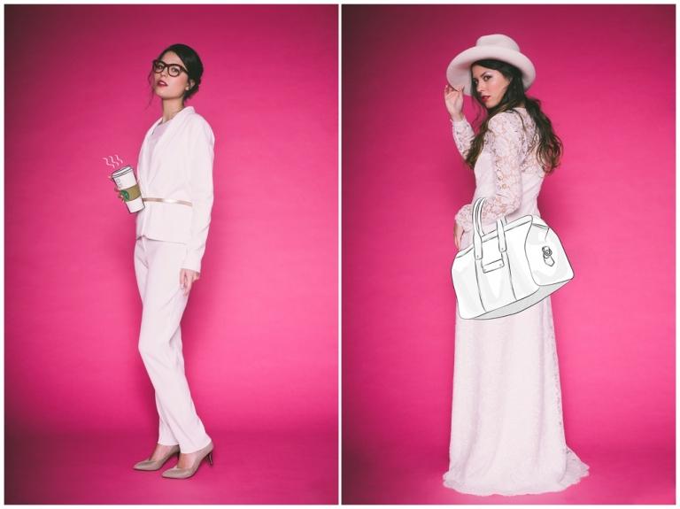 Shooting mode Robe de mariée les mariées fox collection 2016