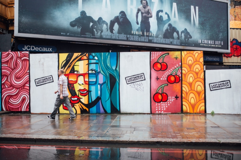 Séance engagement à Shoreditch - Londres