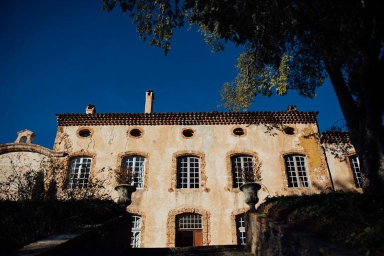 Mariage au Château Margui, Chateauvert