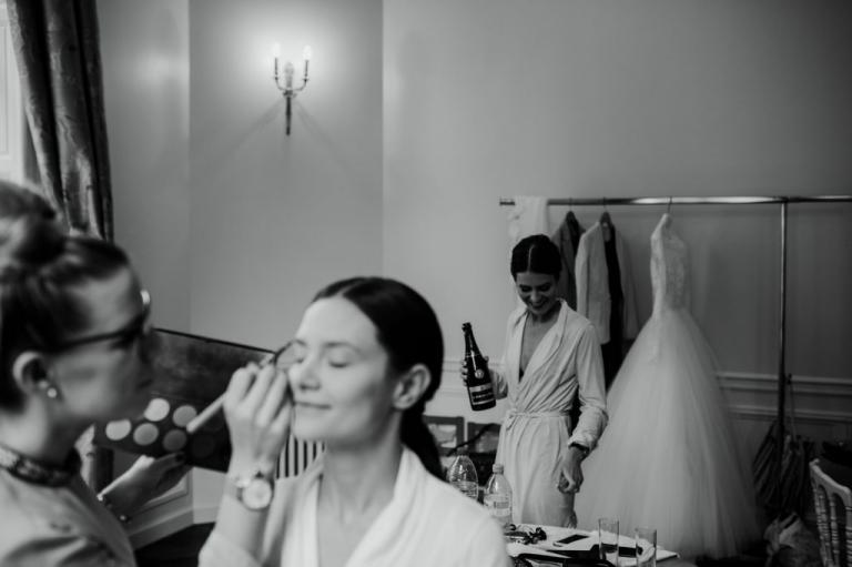 Modern chic wedding, Santeny, France