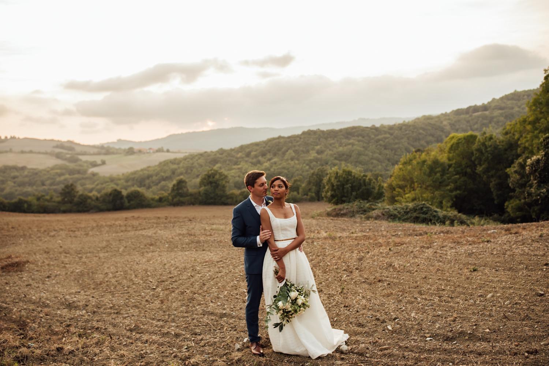 Mariage Tenuta Mocajo en Toscane