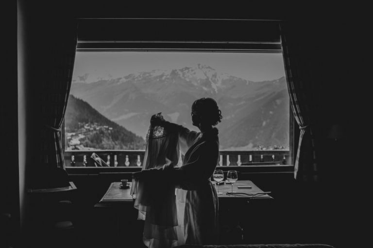 Mariage à Verbier